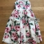 Lady Amy Rose Blossom Printed Crepe Dress thumbnail 9