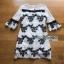 Lace Dress Lady Ribbon ขายเดรส thumbnail 6