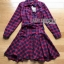 Lady Charlotte Red Tartan Ruffle Shirt Dress thumbnail 7