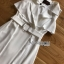 Lady Nelly Neutral Coat Dress thumbnail 7