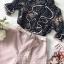 เสื้อเชิ๊ทเนื้อผ้าชีฟองแบบโปร่งกางเกงโทนสีชมพูหวานๆ thumbnail 8