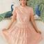 Lady Penelope Cosy Laser-Cut Cotton Dress thumbnail 3