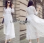 White Cotton Dress เดรสผ้าคอตตอนสีขาว thumbnail 1
