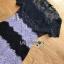 มินิเดรสผ้าลูกไม้ตกแต่งลายทางสลับ thumbnail 8