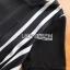 Lady Andra Plain and Striped Asymmetric Black Dress thumbnail 7