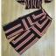 เซ็ทเสื้อ+กางเกงงานเกาหลีทั้งชุดเป็นผ้าทอ thumbnail 10