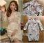 🎀 Lady Ribbon's Made 🎀 Lady Gabriella Elegant Chic Mixed Lace Dress thumbnail 6