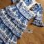 Lady Rita Italian Printed Ruffle Maxi Dress thumbnail 8