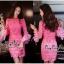 ชุดเดรสถักทอเข้ารูปสไตล์เกาหลี thumbnail 2