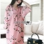Soda Pretty Pink Floral Dress thumbnail 1