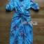 Twisted Shirt Dress Lady Ribbon ขายเชิ้ตเดรส thumbnail 6