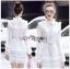 Mini Dress เดรสผ้าลูกไม้สีขาวตกแต่งริบบิ้น thumbnail 1