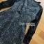 Lady Heidi Flower Black Tweed Dress thumbnail 5