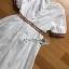 White Dress Lady Ribbon เดรสสีขาวสไตล์อินเดีย thumbnail 6
