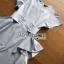 Ruffle Dress Lady Ribbon ขายเดรสยาว thumbnail 6
