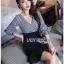 Checked Ruffle Lady Ribbon Dress thumbnail 4