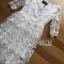 Lady Eves Princess Style White Lace Dress thumbnail 4