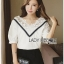 Lady Analeigh Sweet Chic Cotton Blouse thumbnail 1