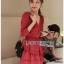 Lady Rosie Layered Lace and Chiffon Mini Dress thumbnail 4