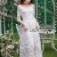 Lady Eves Princess Style White Lace Dress thumbnail 2
