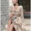 Lady Diana Pure Elegant White and Cream Lace Dress thumbnail 4