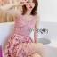 Lace Single Dress เดรสสายเดี่ยว thumbnail 4