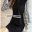 Plain Lady Ribbon Black Dress thumbnail 3
