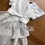 Ruffle Dress Lady Ribbon ขายเดรสยาว thumbnail 5