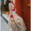 Lady Fancy Colourful Lace Maxi Dress thumbnail 3