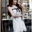 Lady Ribbon เสื้อยาวสีขาวลูกไม้วินเทจ thumbnail 4