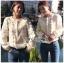 White Lace Blouse เสื้อแขนยาวผ้าลูกไม้สไตล์เบสิก thumbnail 2