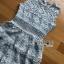Grey Lace Dress Lady Ribbon ขายเดรส thumbnail 5