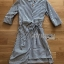 Chic Lady Ribbon Striped Cotton Kimono Dress thumbnail 8
