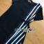 Lady Ribbon Black Dress เดรสสีดำลายทาง thumbnail 6