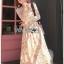 Lady Diana Pure Elegant White and Cream Lace Dress thumbnail 5