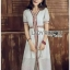 White Dress Lady Ribbon เดรสสีขาวสไตล์อินเดีย thumbnail 4