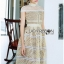 Lady Ribbon Dress เดรสสีเหลืองพาสเทล thumbnail 2