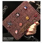 (สีชมพูเข้ม) Di-Lian Fashion (เคส iPad mini 1/2/3)