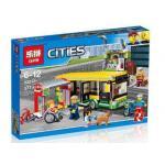 เลโก้จีน LEPIN CITY 02078 ชุด Bus Station