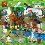 MINECRAFT เลโก้จีน รหัส LELE 33163 ( 1,007 ชิ้น )