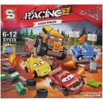 เลโก้จีน SY 939 ชุด Cars 3 Thunder Hollow Crazy 8 Race