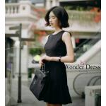 เสื้อผ้าชุดดำ เดรสทรงสวยจากแบรนด์PRADA