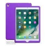 (สีม่วง) เคสซิลิโคนนิ่ม (เคส iPad Pro 9.7)