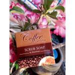 Coffee curcuma scrub soap by..noomham