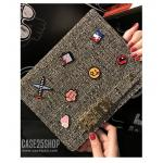 (สีดำ) Di-Lian Fashion (เคส iPad Air 2)