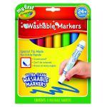 สีเมจิกปลอดสารพิษล้างออกได้ Crayola My First Crayola Washable Markers 8 สี