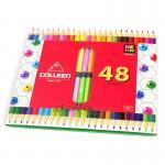 สีไม้ COLLEEN 2 หัว 48 สี