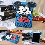 (สีน้ำเงิน) เคสซิลิโคนการ์ตูน ดิสนีย์ (เคส iPad mini 1/2/3)