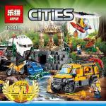เลโก้จีน LEPIN CITY 02061 ชุด Jungle Exploration Site