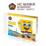 นาโนบล็อค : SpongeBob HC Magic 9007